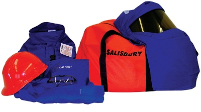Salisbury Pro-Wear HRC3 Arc Flash Clothing & Protection Kit 31 cal/cm� ATPV